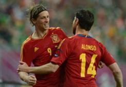Fernando Torres & Xabi Alonso