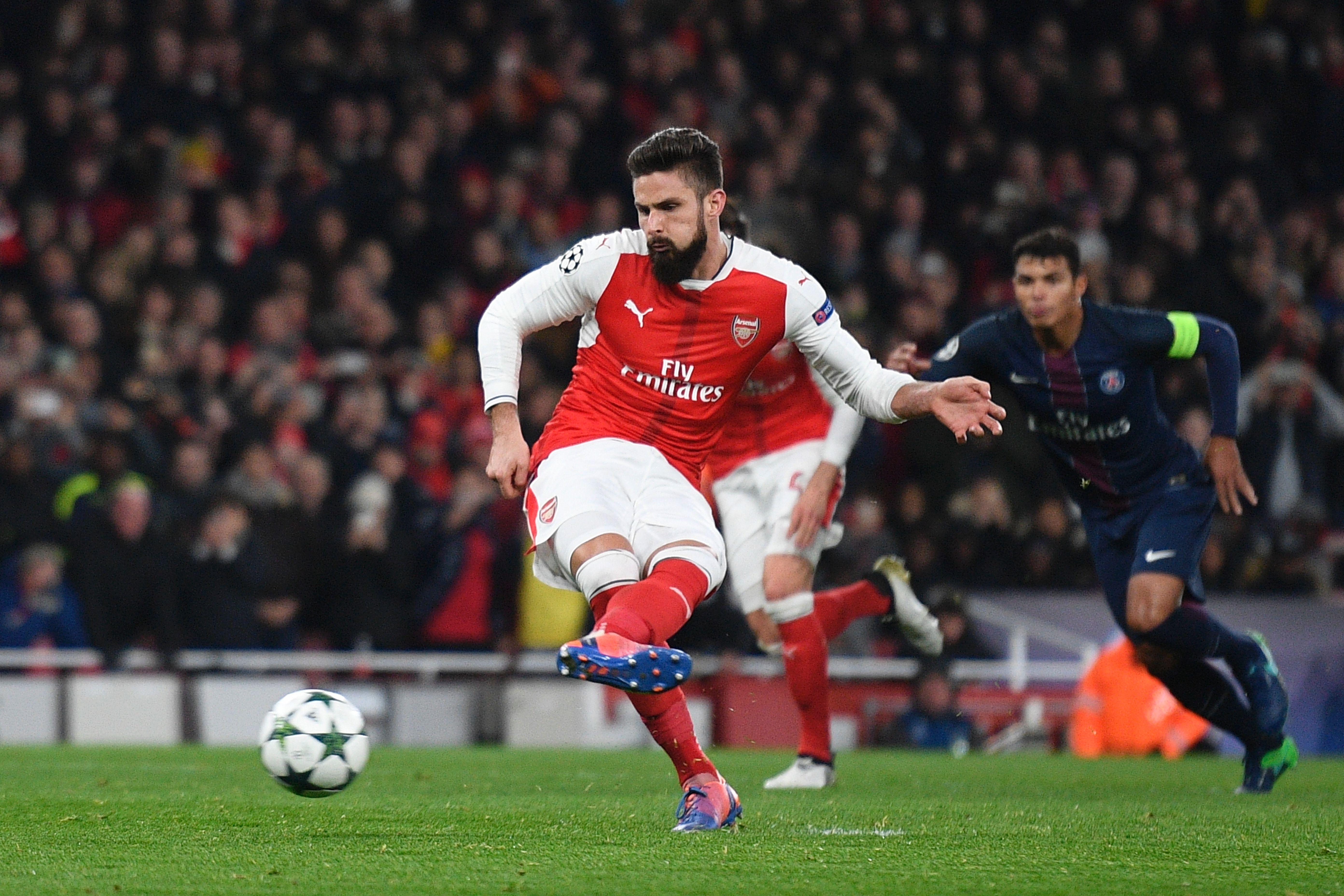 Olivier Giroud : Arsenal - PSG