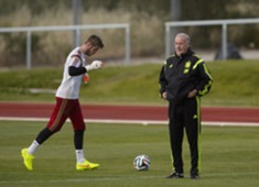 David De Gea & Vicente Del Bosque