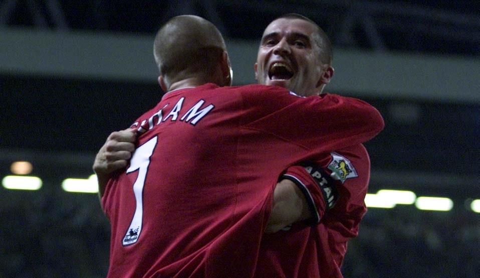 Roy Keane & David Beckham, Manchester United