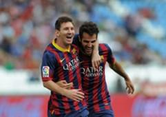 Lionel Messi & Cesc Fabregas - Barcelona