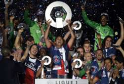 PSG French Ligue 1 Champions 2014