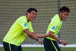 Thiago Silva - Neymar Brazil
