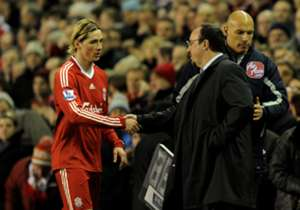 Rafael Benitez & Fernando Torres, Liverpool