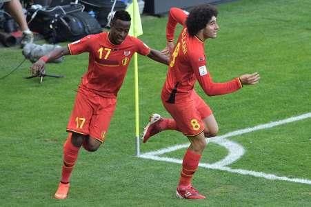 Marouane Fellaini, Divock Origi Belgium VS Algeria World Cup 26062014