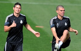 James Rodriguez & Pepe