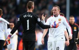 David De Gea & Wayne Rooney