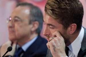 Sergio Ramos & Florentino Perez