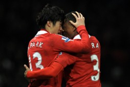 Park ji sung & Patrice Evra - Manchester United