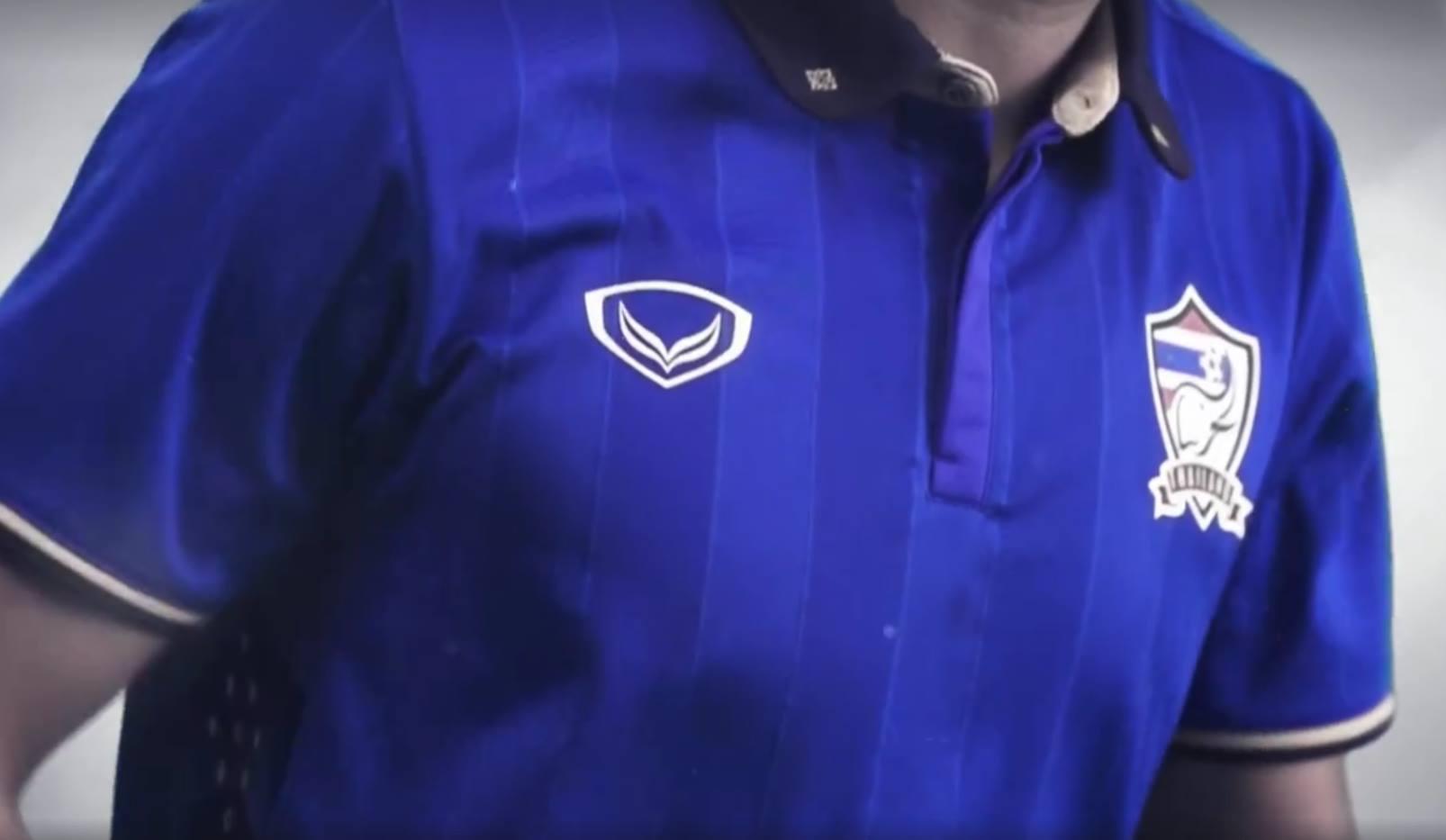 Thailand Luncurkan Jersey Terbaru Kaos Indonesia Timnas Satu Satunya Perubahan Yang Paling Kentara Adalah Peralihan Warna Pada Bagian Kerah Kali Ini Dihiasi Hitam Menggantikan Putih Sebelumnya