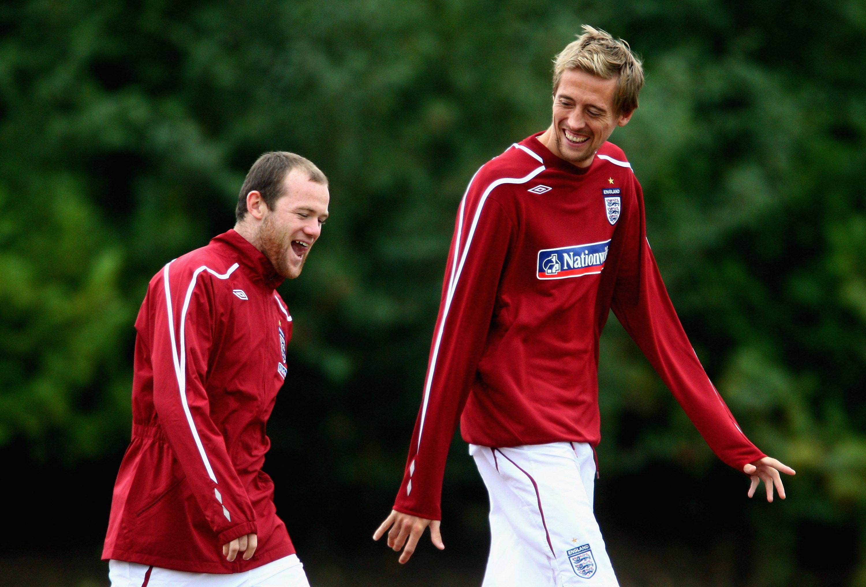 Wayne Rooney Amp Peter Crouch England Goal Com