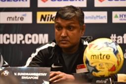 V. Sundramoorthy | AFF Suzuki Cup 2016 | Press Conference