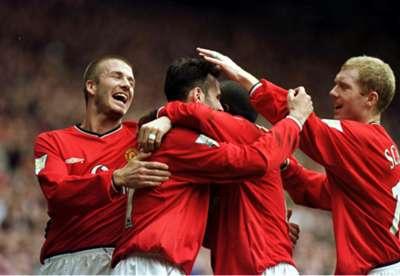 David Beckham, Ryan Giggs, Paul Scholes