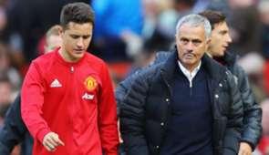 Ander Herrera & Jose Mourinho