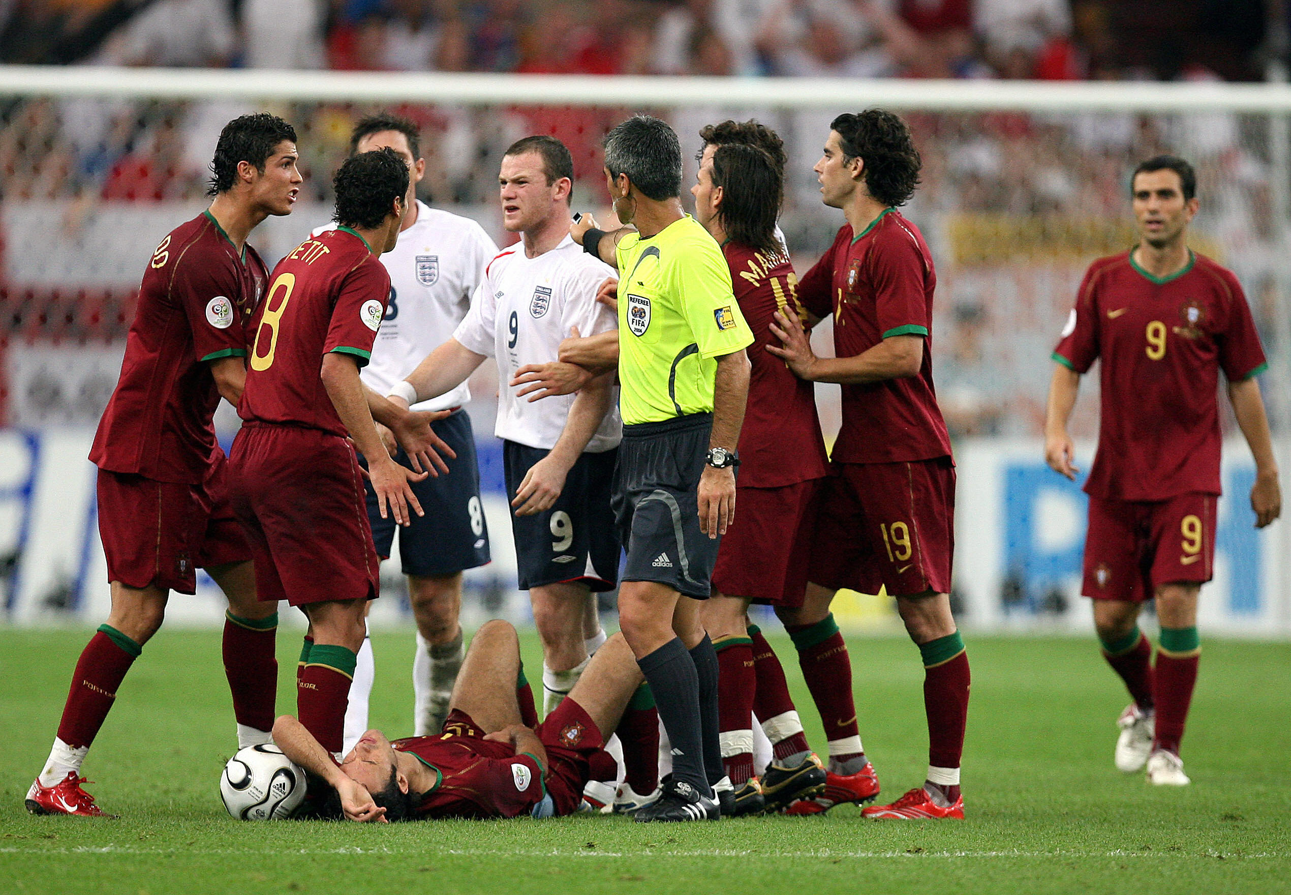 England VS Portugal, World Cup 2006