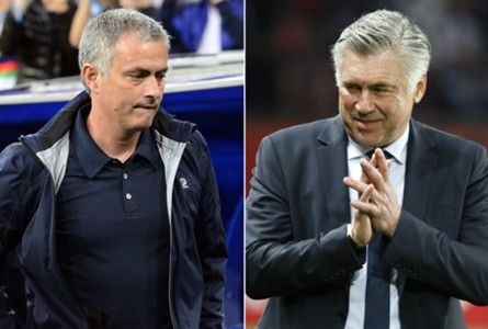 Jose Mourinho , Carlo Ancelotti