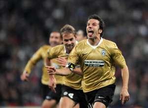 Alessandro Del Piero - Real Madrid v Juventus - UEFA Champions League