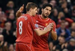 Steven Gerrard & Emre Can - Liverpool