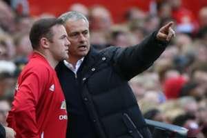 Jose Mourinho & Wayne Rooney