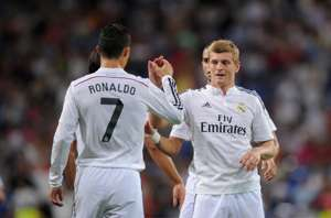 Toni Kroos - Cristiano Ronaldo
