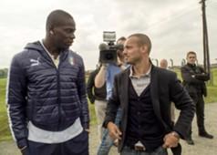 Mario Balotelli & Wesley Sneijder