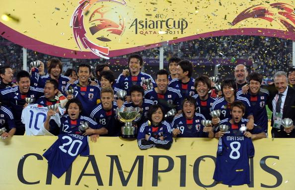 Japan Asian Cup 2011 Winner