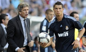 Manuel Pellegrini & Cristiano Ronaldo