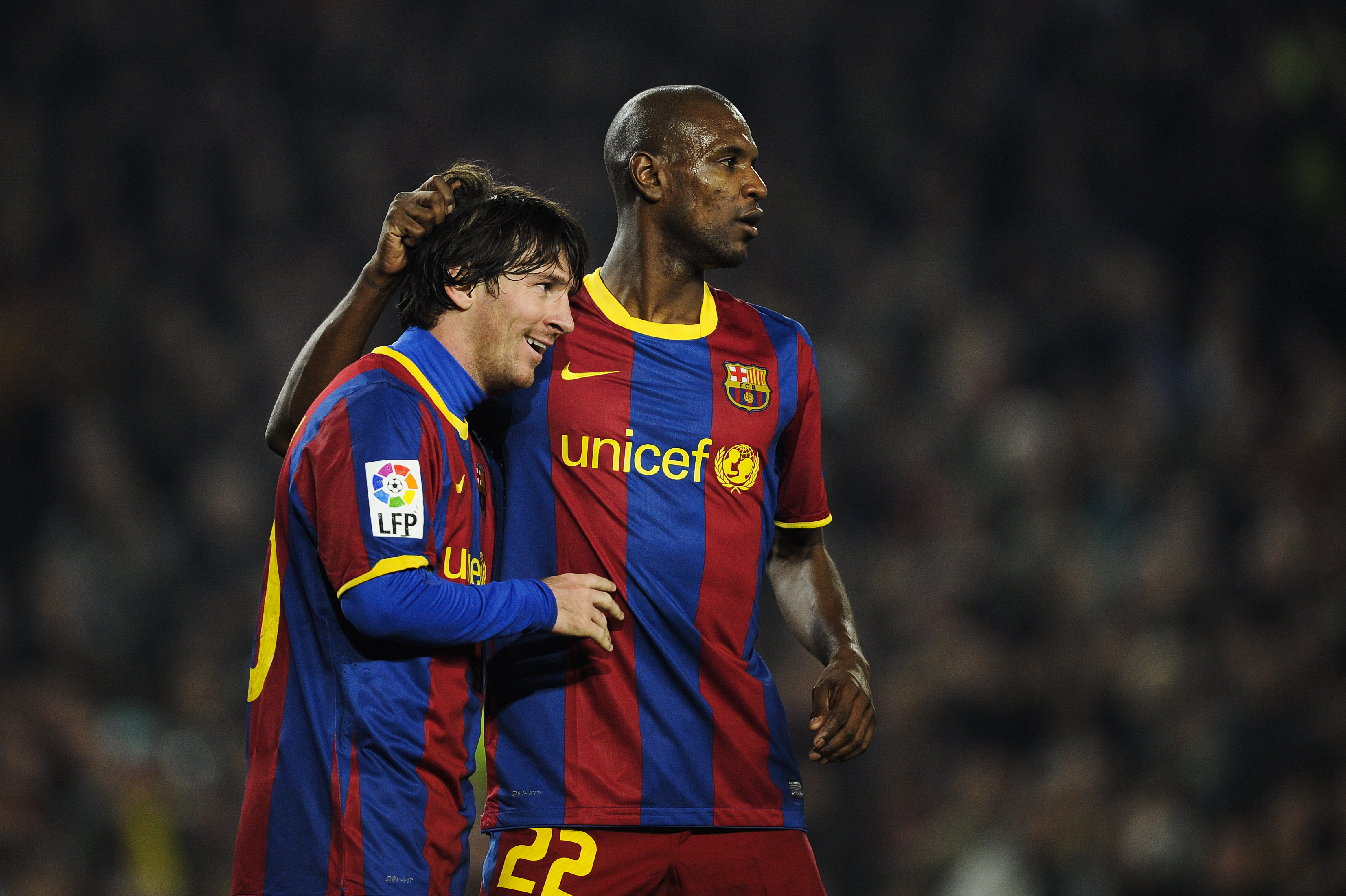 Lionel Messi & Eric Abidal - Barcelona