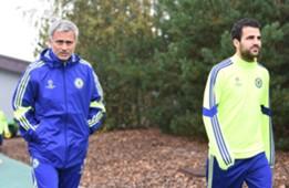 Jose Mourinho & Cesc Fabregas, Chelsea