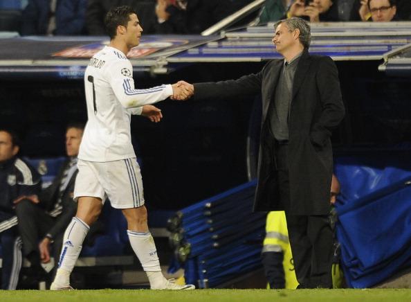 Cristiano Ronaldo - Jose Mourinho