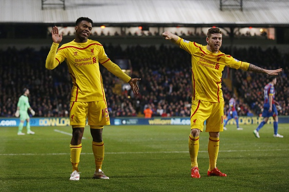 Image result for sturridge alberto moreno