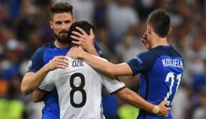 Giroud, Ozil, Koscielny