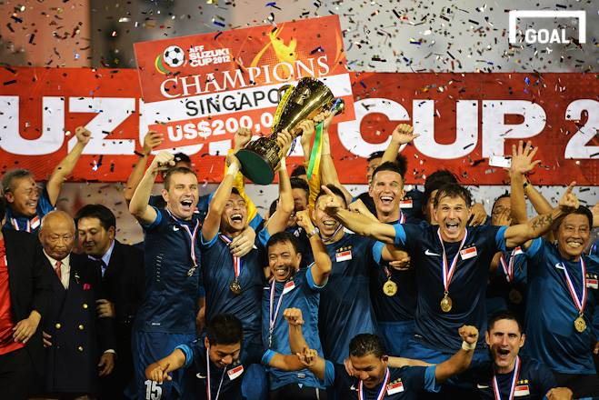AFF Suzuki Cup 2012 Champions - Singapore