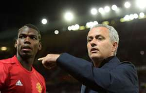 Paul Pogba & Jose Mourinho