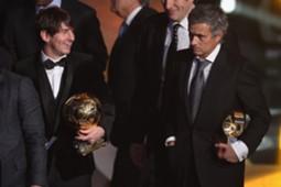 Lionel Messi & Jose Mourinho