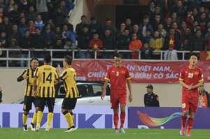 Malaysia Vietnam AFF Suzuki Cup 2014