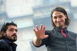Gennaro Gattuso & Zlatan Ibrahimovic
