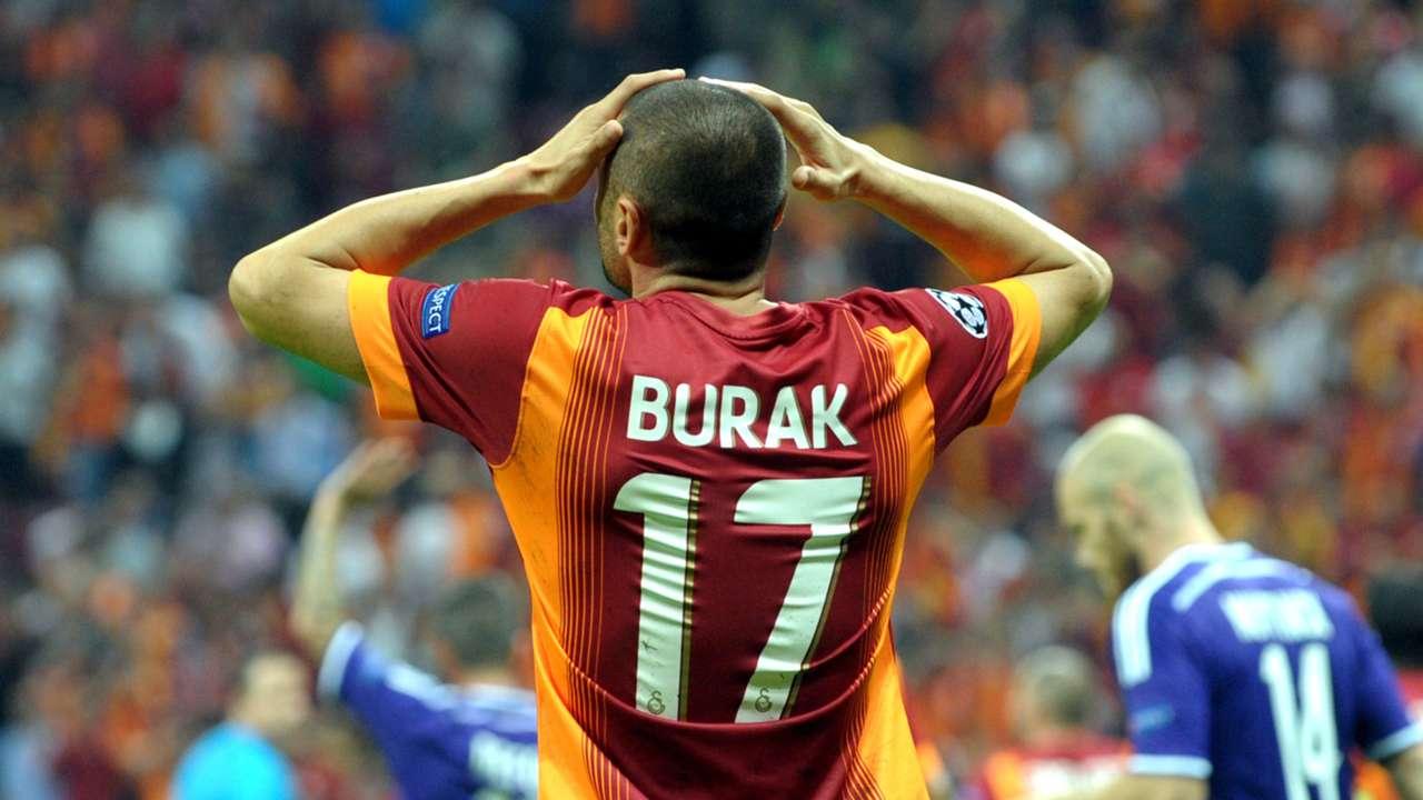 Galatasaray Anderlecht Burak Yilmaz CL 16092014