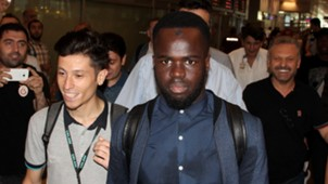 Cheick Tiote arrived Istanbul