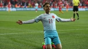 Emre Mor Turkey goal celebration 2732017