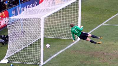 Frank Lampard disallowed goal against Germany WC 06272010