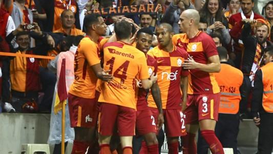 Galatasaray goal celebration 9302017