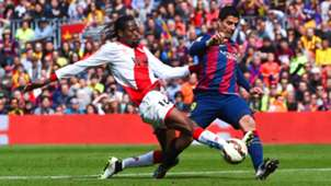 Abdoulaye Ba Luis Suarez Rayo Vallecano Barcelona