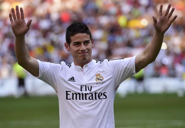 James Rodriguez Real Madrid 07222014
