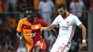 Galatasaray Sivasspor Bafetimbi Gomis Hakan Bilgic