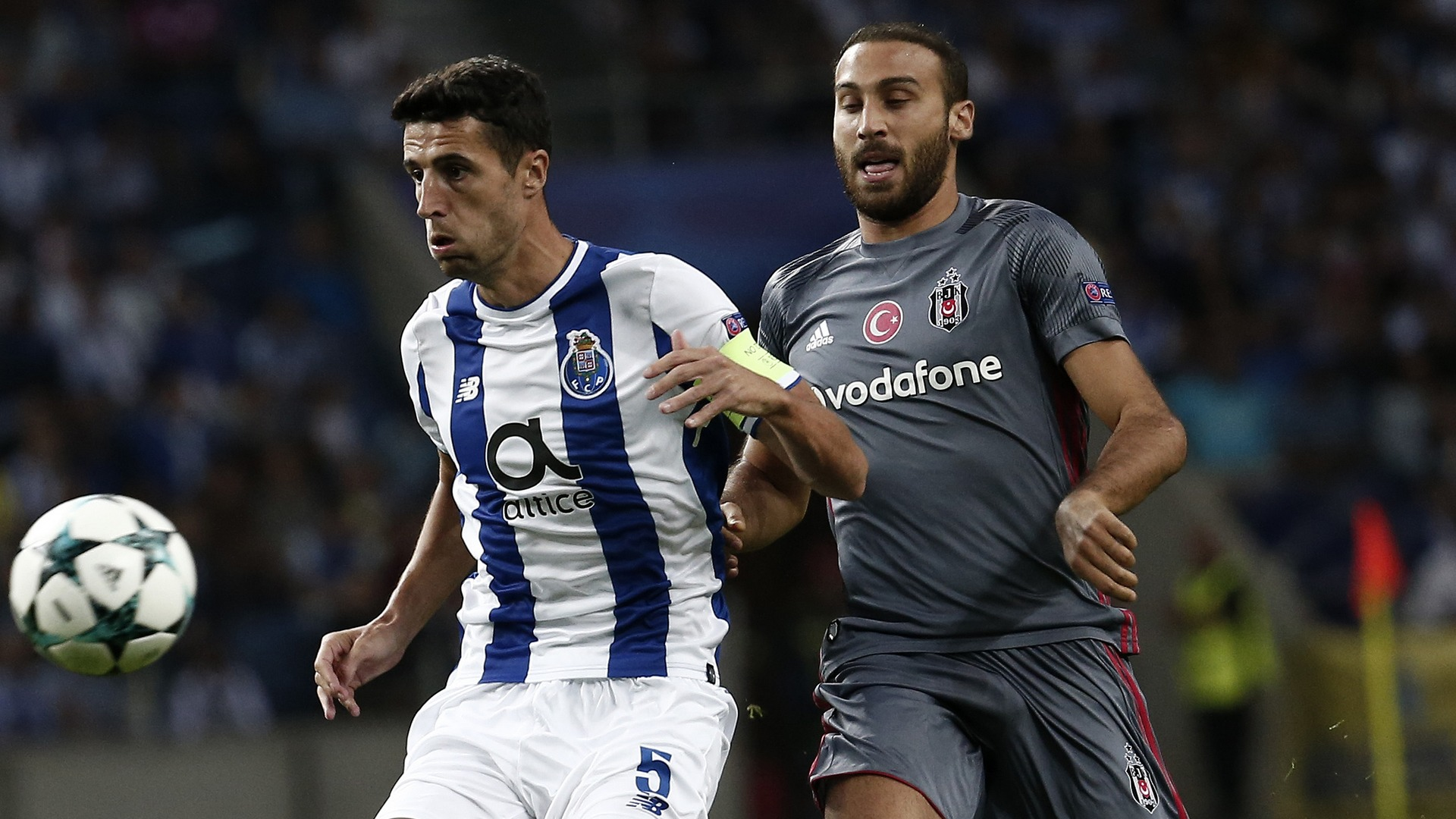 Ivan Marcano Cenk Tosun Porto Besiktas UCL 09132017