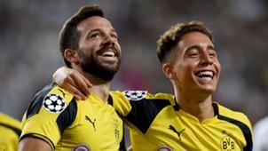 Gonzalo Castro Emre Mor Borussia Dortmund