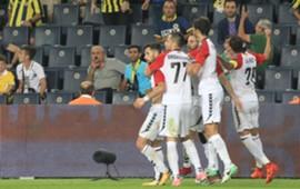 Vardar goal celebration vs Fenerbahce 08242017