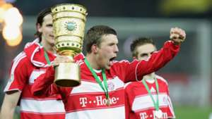 Lukas Podolski Bayern Munich German Cup DFB 04192008