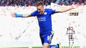 Jamie Vardy Leicester City 04102016